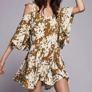 NWT FREE PEOPLE LUCINA MINI DRESS TUNIC XSMALL